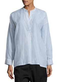 Vince Shirred Back Blouse