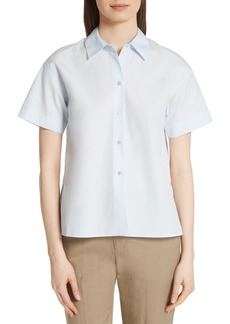 Vince Short Sleeve Cotton Shirt