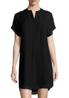 Vince Short-Sleeve Shift Dress