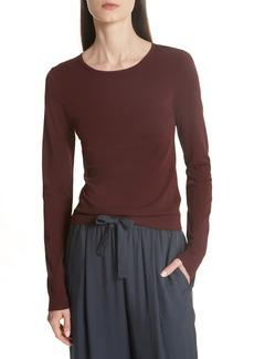 Vince Shrunken Crewneck Sweater