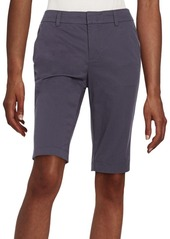 Vince Side-Buckle Bermuda Shorts