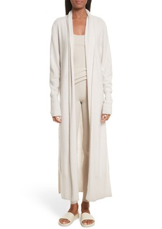 Vince Side Slit Long Cardigan