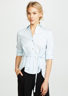 Vince Side Tie Blouse