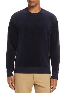 Vince Side Zip Velour Sweatshirt - 100% Exclusive