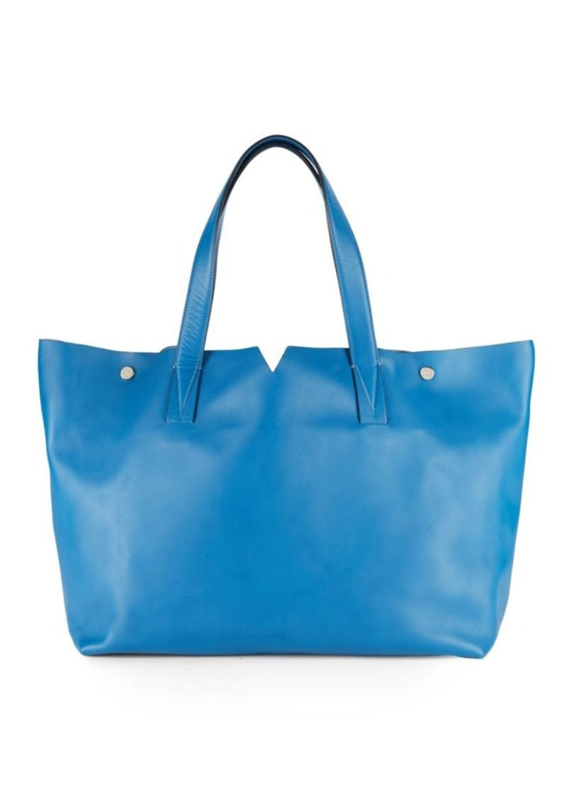 Vince Signature Leather Tote