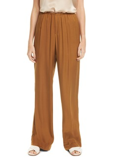 Vince Silk Blend Pull-On Pants