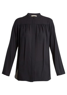 Vince Silk-georgette blouse