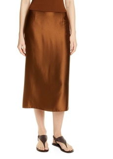 Vince Silk Slip Skirt