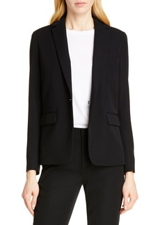 Vince Single Button Blazer