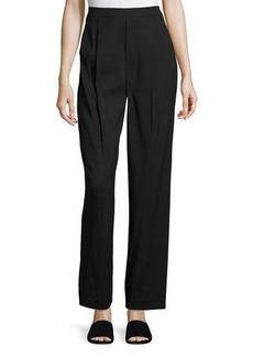 Vince Single-Pleat High-Waist Pants