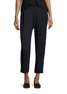 Vince SINGLE PLEAT PANT / BLACK