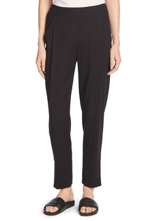 Vince Single-Pleat Pull-On Track Pants