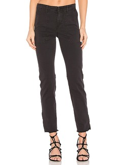 Vince Skinny Military Pant in Black. - size 26 (also in 27,28)