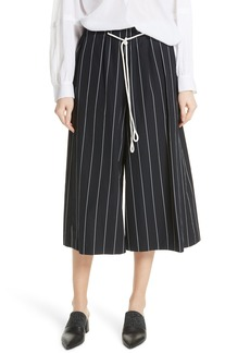 Vince Stripe Cotton Culottes