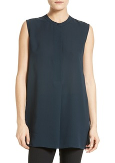 Vince Sleeveless Silk Tunic