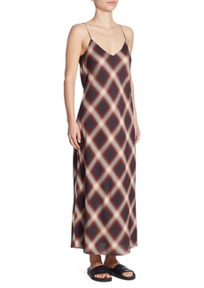 Vince Striped Slip Dress