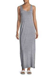 Vince Sleeveless Slub Maxi Dress