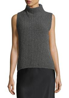 Vince Sleeveless Turtleneck Pullover Sweater