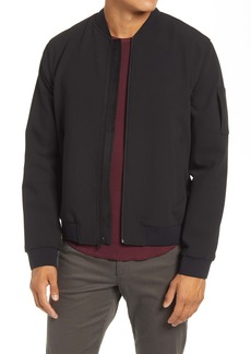Vince Slim Fit Bomber Jacket