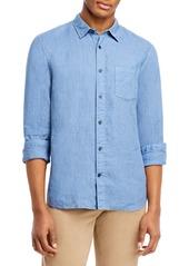 Vince Slim Fit Linen Coastal Shirt