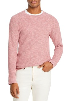 Vince Slim Fit Mouline Thermal Crewneck Sweater
