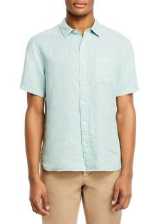 Vince Slim Fit Optic White Shirt