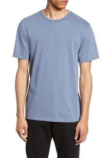 Vince Slim Fit Shadow Stripe T-Shirt