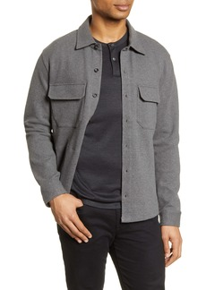 Vince Slim Fit Shirt Jacket
