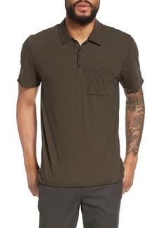 Vince Slim Fit Stripe Polo Shirt