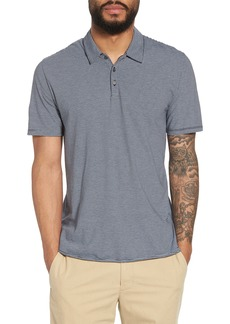 Vince Slim Fit Stripe Polo Shirt