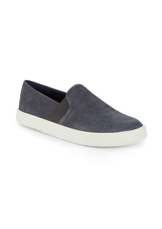Vince Slip-On Leather Sneakers