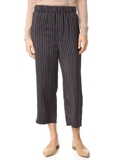 Vince Slouchy Crop Drawstring Pants