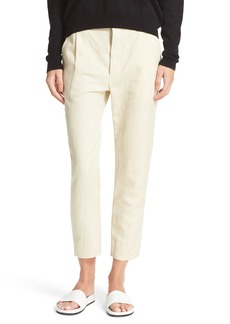 Vince Slouchy Slim Ankle Trousers