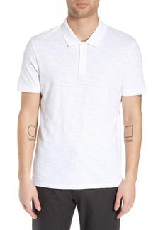 Vince Slub Regular Fit Polo Shirt