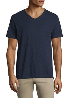Vince Slub Short-Sleeve V-Neck T-Shirt