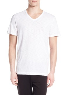 Vince Slub Slim Fit V-Neck T-Shirt