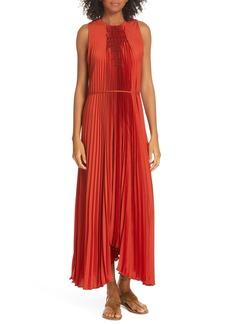 Vince Smocked Maxi Dress