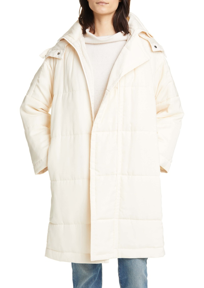 Vince Soft Quilted Coat