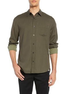 Vince Solid Double Face Slim Fit Sport Shirt