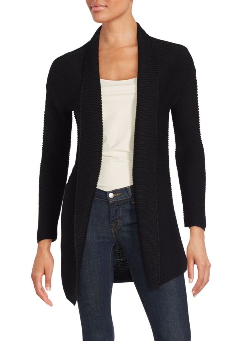 Vince Solid Long Sleeve Cardigan
