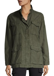 Vince Solid Military Jacket