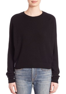 Vince Solid Ribbed Sweater