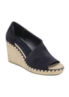 Vince Sonora Suede Asymmetric Sandals