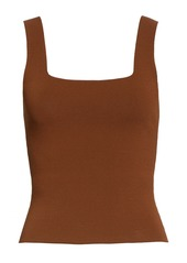 Vince Square Neck Sweater Tank