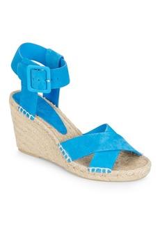 Vince Stefania Suede Espadrille Wedge Sandals