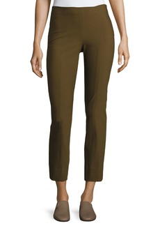 Vince Stitch-Front Seamed Leggings