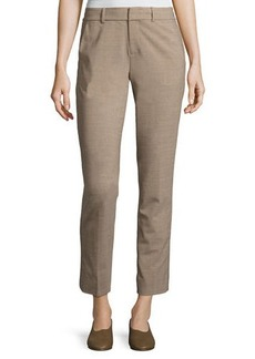 Vince Strapping Wool-Blend Trousers