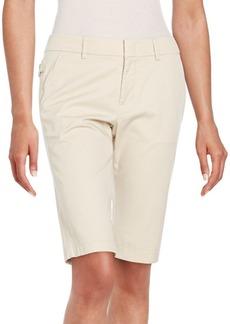 Vince Stretch-Cotton Bermuda Shorts