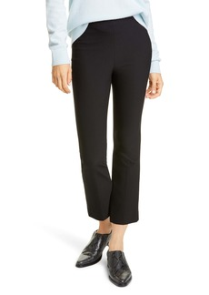 Vince Stretch Cotton Blend Flare Crop Pants