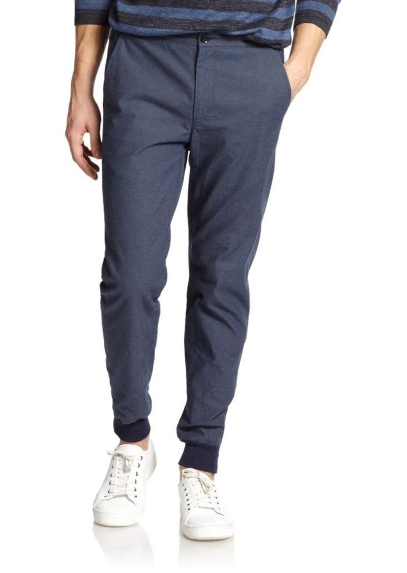 Vince Stretch Cotton Jogger Pants